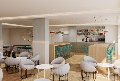 Bar 2019 (Render) Hotel AluaSun Torrenova Palmanova, Mallorca